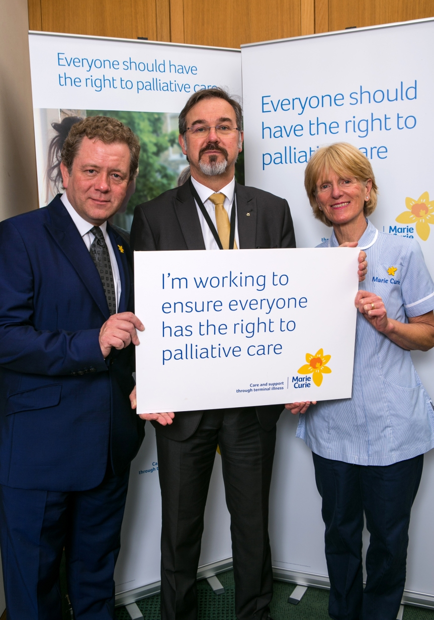 Plege to Support to Improve Care for TerminallyIll.