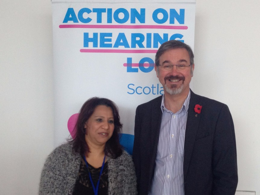 A Visit from Action on Hearing LossScotland