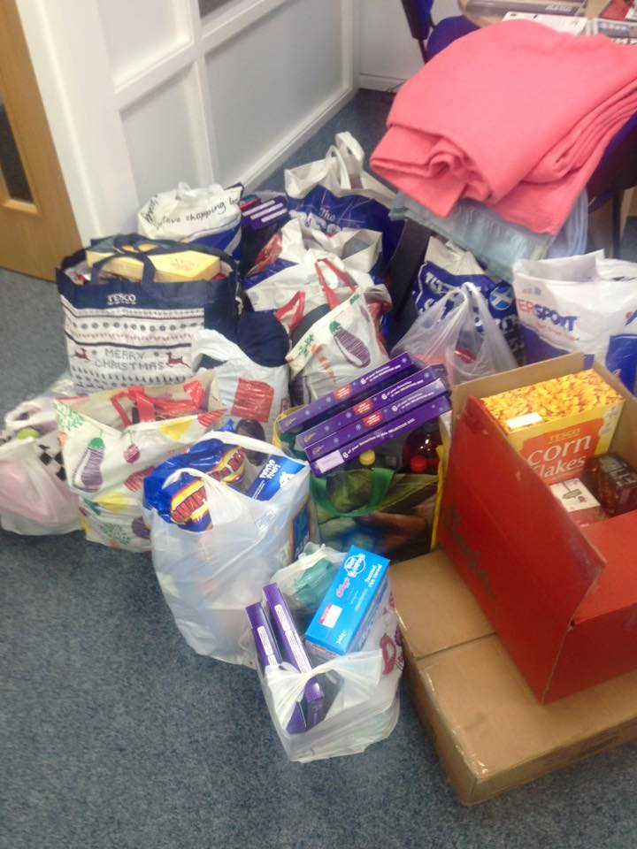 Thank You! Foodbank Donations
