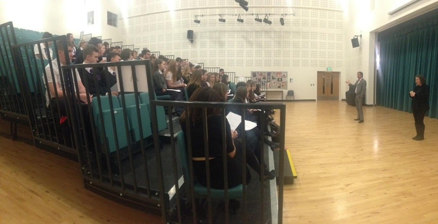 Clydeview Academy Visit