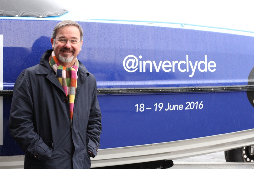 Could you crew Inverclyde's powerboat?