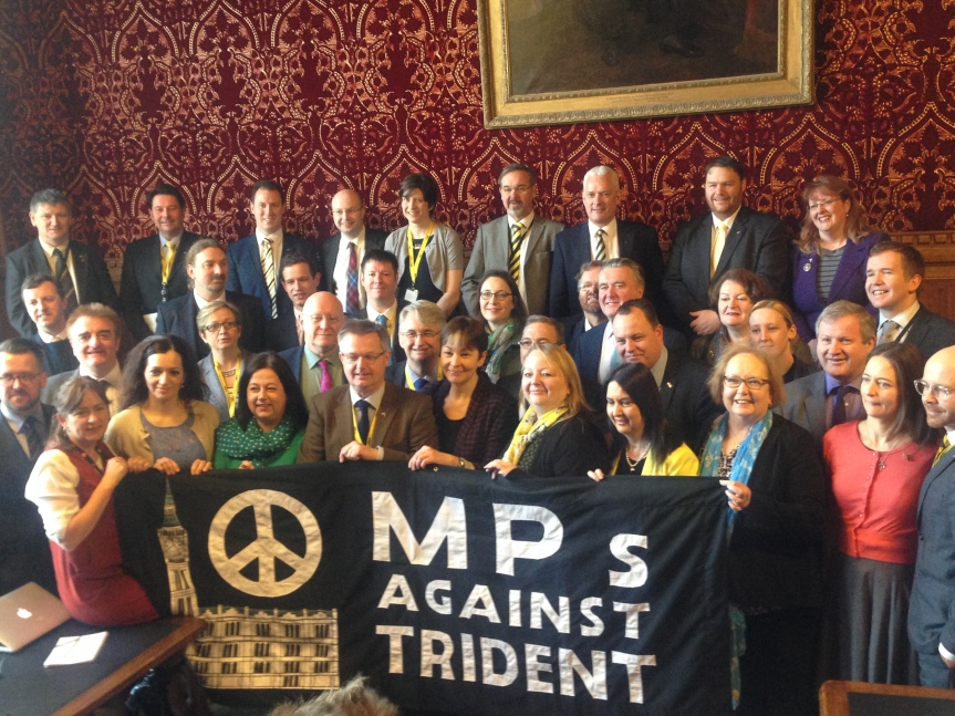 Stop Trident Demo on Saturday