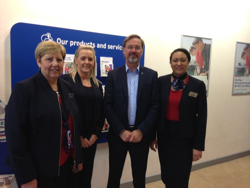 Visit to Nationwide BuildingSociety