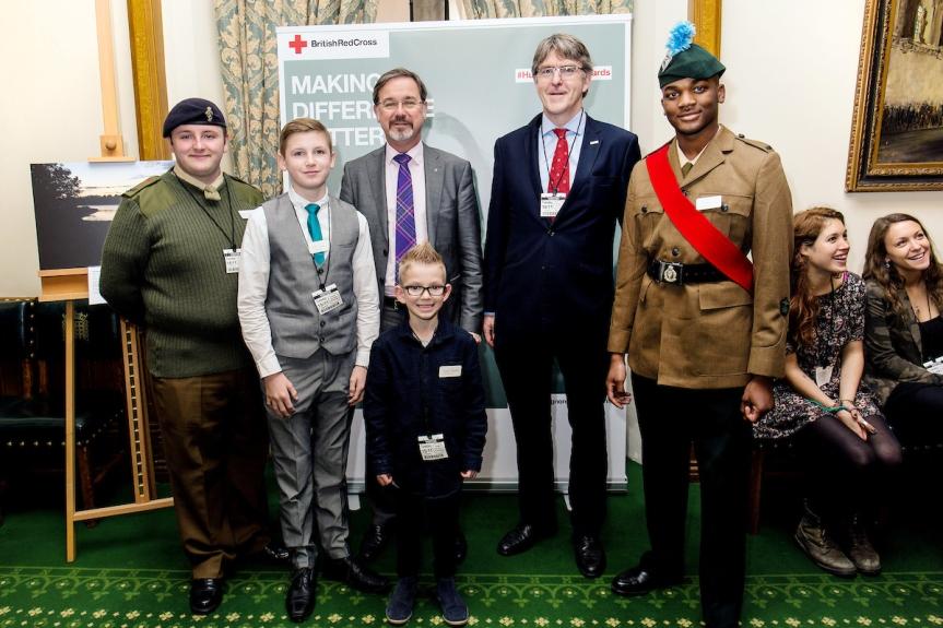 British Red Cross AwardsCeremony