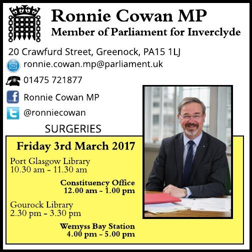 Constituent surgeries – March2017