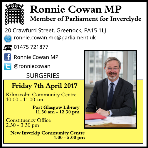 Constituent surgeries – April 2017