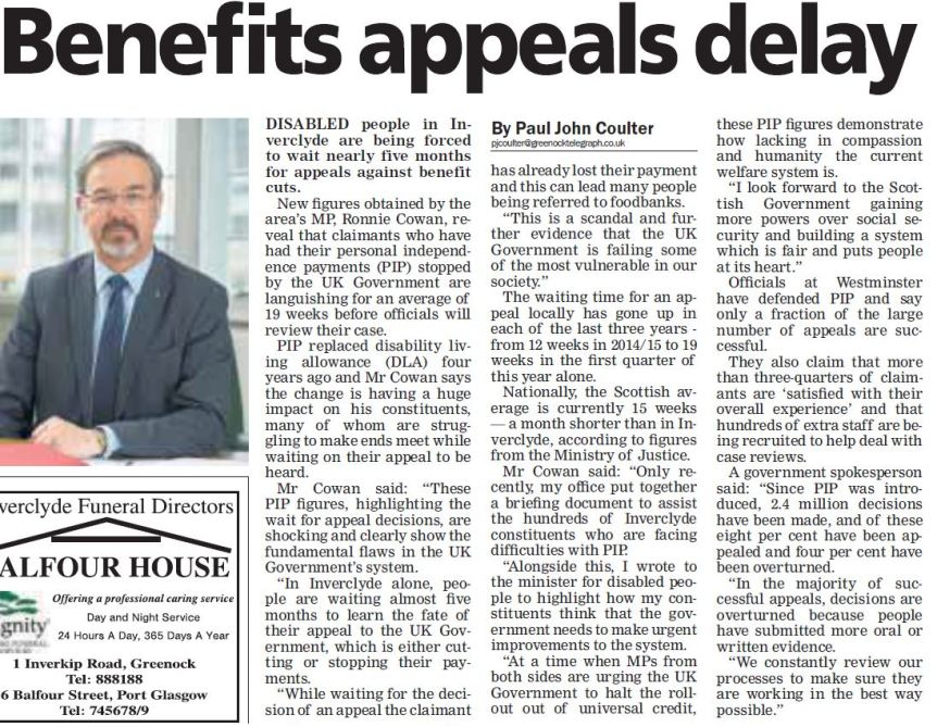 Greenock Telegraph [12/10/2017]