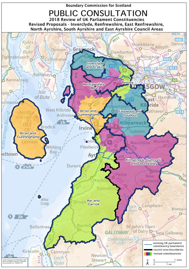 Consultation on Inverclyde Constituency BoundaryChanges