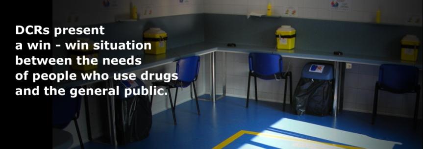 Drug consumption rooms