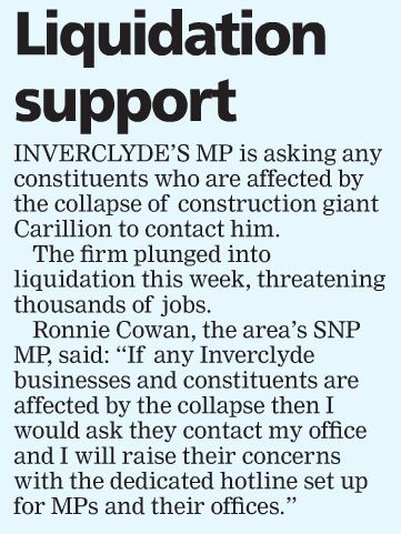 Greenock Telegraph [20/01/2018]