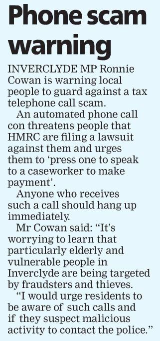 Greenock Telegraph [24/08/2018]