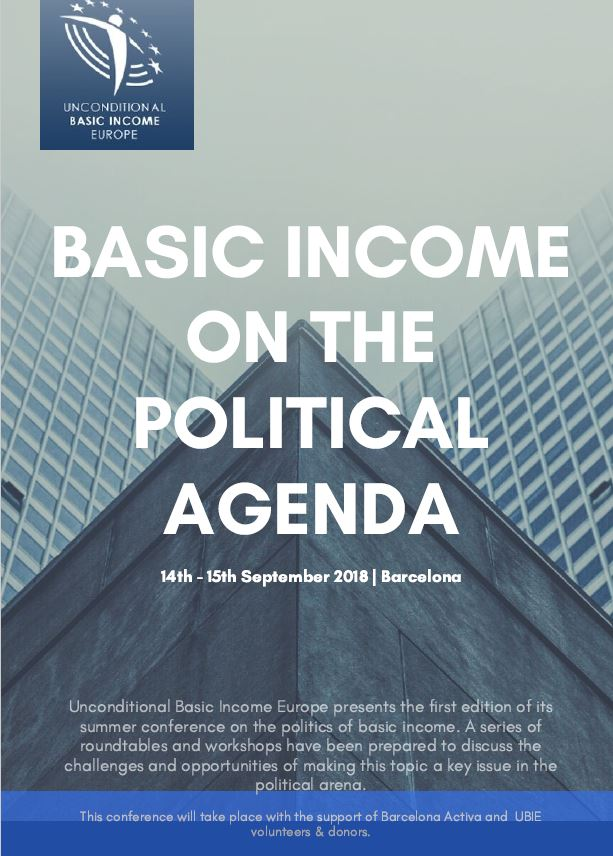 Basic Income Conference – Barcelona
