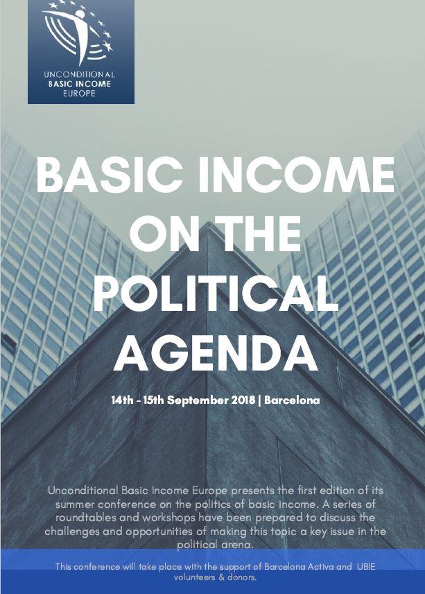 Basic Income Conference –Barcelona