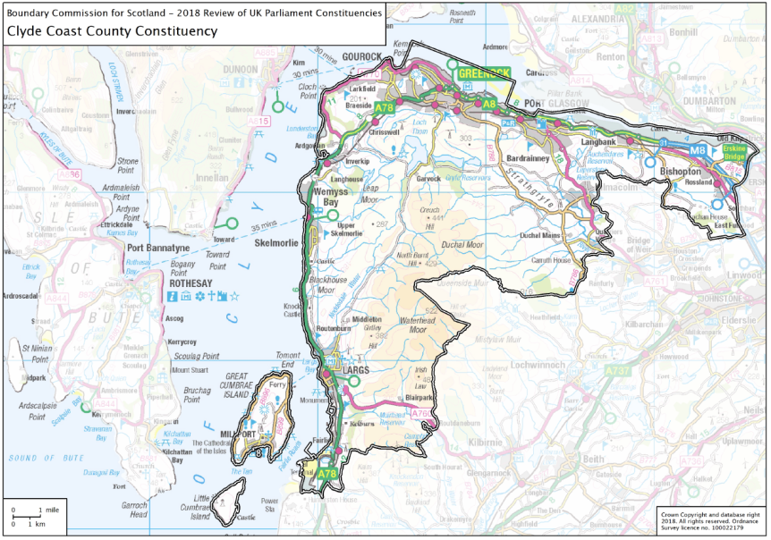 Inverclyde Constituency Boundary Changes