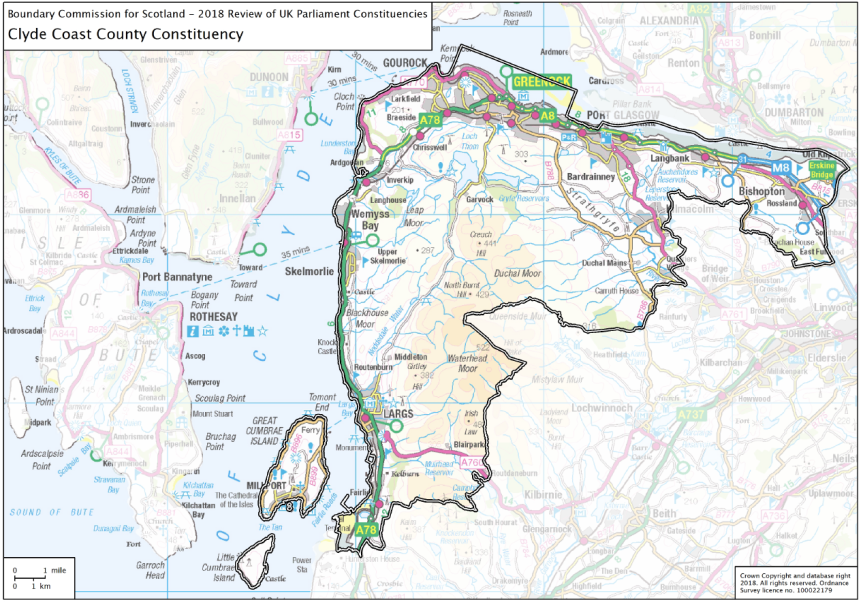 Inverclyde Constituency BoundaryChanges