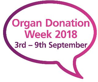 Organ Donation Week 2018