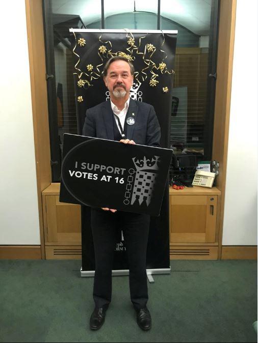VotesAt16 campaign