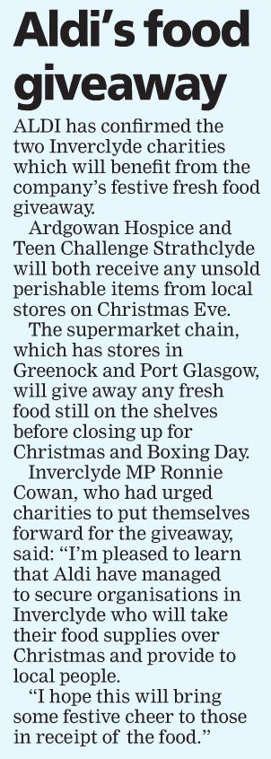 Greenock Telegraph [13/12/2018]