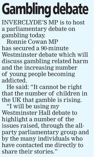 Greenock Telegraph [19/03/2019]