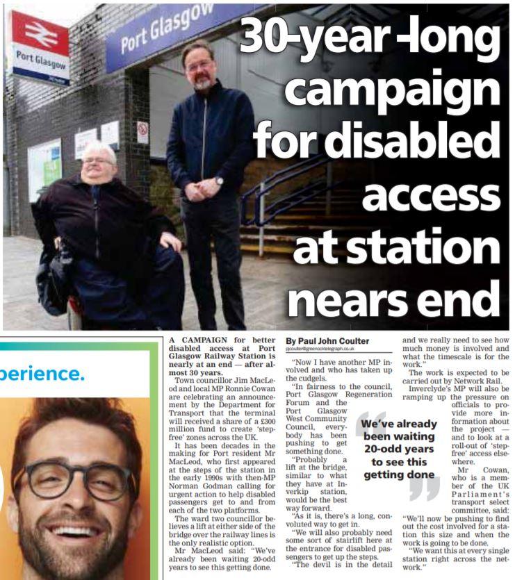 Greenock Telegraph [22/04/2019]