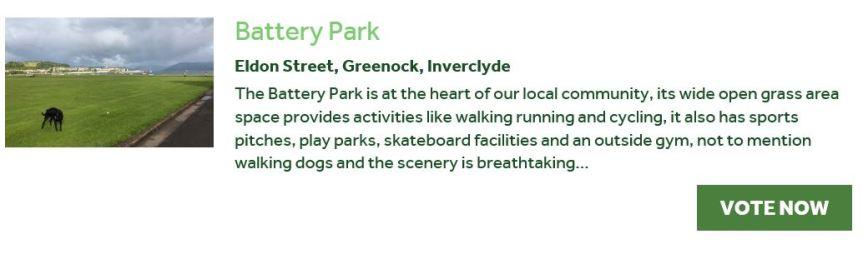 UK's Best Park2019