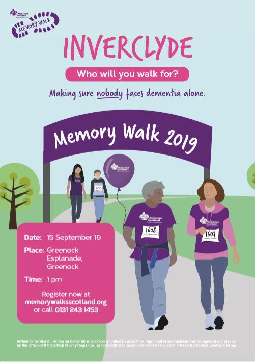 Inverclyde Memory Walk