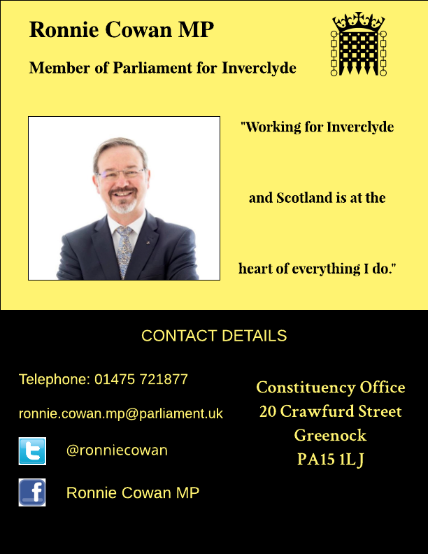 Constituent surgery – Inverclyde office