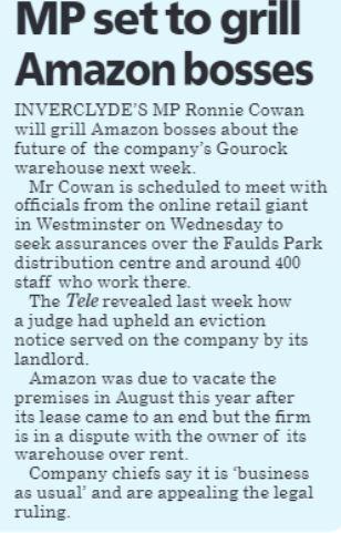 Greenock Telegraph [18/10/2019]