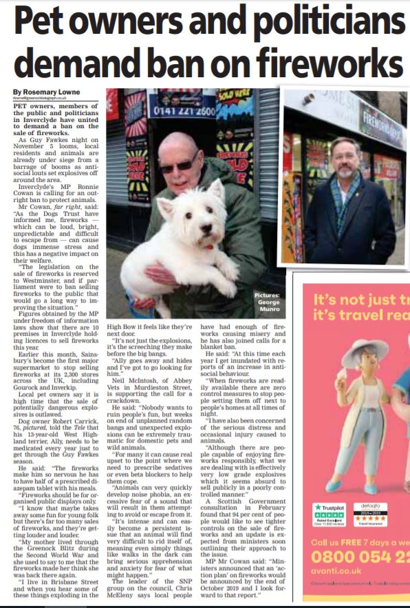 Greenock Telegraph [30/10/2019]