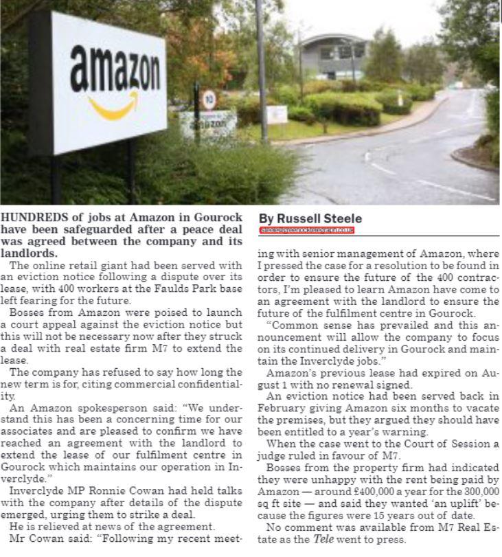 Greenock Telegraph [05/11/2019]