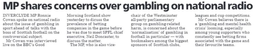 Greenock Telegraph [11/02/20]