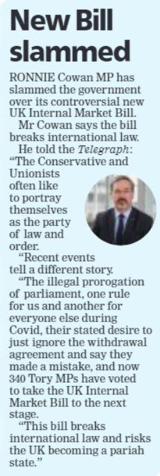 Greenock Telegraph [17/09/2020]