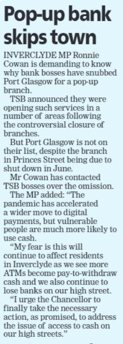 Greenock Telegraph [29/04/2021]
