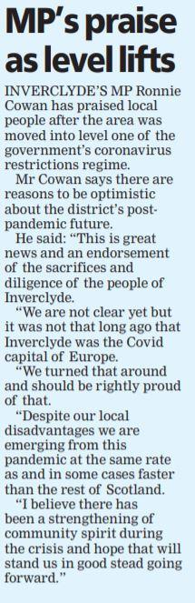 Greenock Telegraph [03/06/2021]