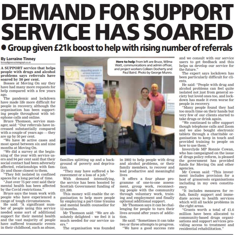 Greenock Telegraph [24/07/2021]