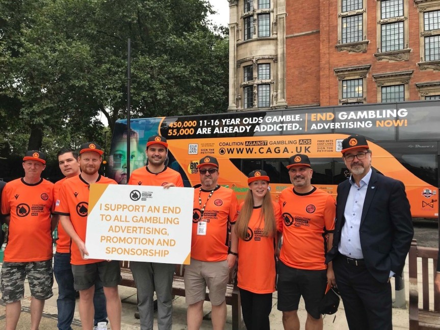 Coalition Against Gambling Advertising – lobby ofparliament