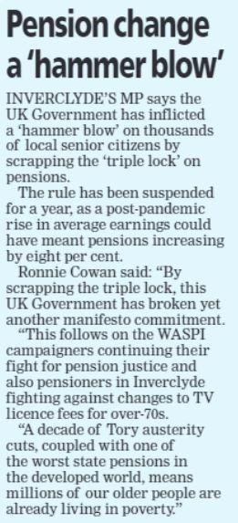 Greenock Telegraph [10/09/2021]