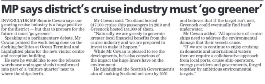 Greenock Telegraph [14/10/2021]